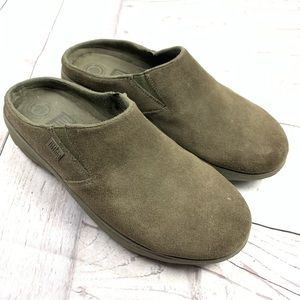 Fitflop Brown Clogs Slide Ons 8